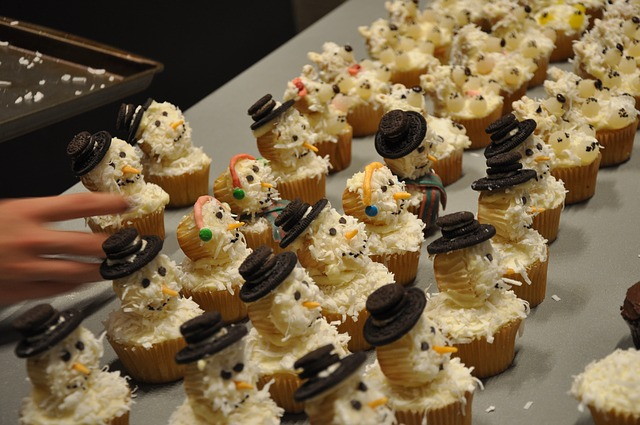 VM cup cakes