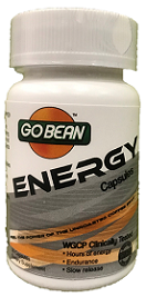 GoBean Energy Capsules Organic Green Coffee Bean Supplement