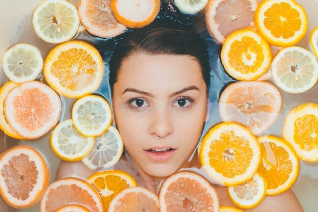 healthy and vibrant skin